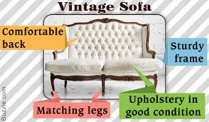 Buying A Sofa by A Helpful Guide For Buying A Vintage Sofa
