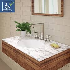 oval undermount bathroom sink decolav mayah 1412 cwh oval undermount vitreous china bathroom sink