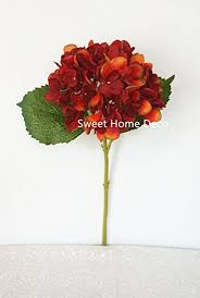 silk hydrangea sweet home deco 18 silk hydrangea single stem autumn