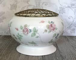 Wedgwood Vase Patterns Wedgwood Rose Vase Etsy