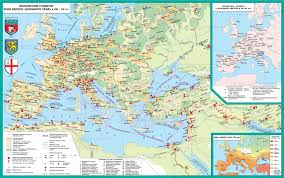 Map Of Medieval Europe Culture Of Medieval Europe World History History Of The Middle