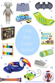 easter basket ideas for toddlers boy easter basket ideas arinsolangeathome