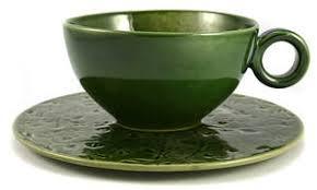 Handmade Tea Cups - handmade tea cup with saucer green id 1636195 product details