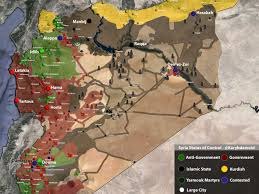 Syria On A Map by Map Of Syria Shows What Isis Is Truly Fighting For Business Insider