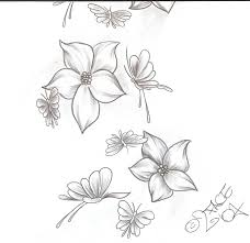 7 best images of cool easy design to draw butterflies butterfly