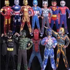 marvel superheroes 2017 hallowmas unisex kids cosplay