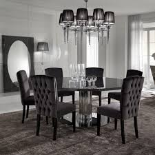 round dining table and chairs italian modern designer chrome round dining table juliettes interiors