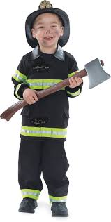 firefighter costume black celebrate halloween pinterest