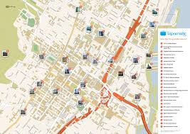 Montreal Metro Map Free Printable Map Of Montreal Attractions Free Tourist Maps