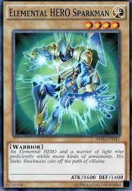 card trivia elemental sparkman yu gi oh fandom powered