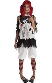 creepy doll costume rag doll girl costume jokers masquerade