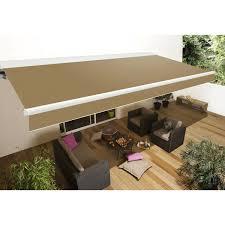 Toiles Pour Stores Bannes Store Banne Motorisé Calvi L 5 M X Avancée 3 5 M Leroy Merlin
