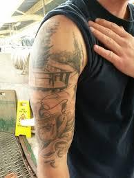 fly fishing tattoo ideas