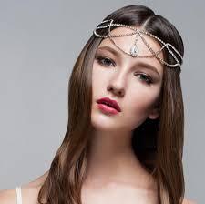 boho headband rhinestone headband boho headband gatsby headband
