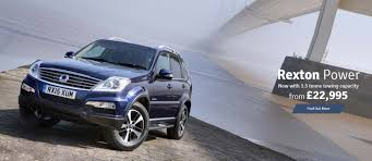 new ssangyong rexton in malmesbury wiltshire david hendry cars
