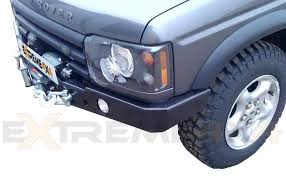 discovery 2 rear light conversion 2 winch bumper