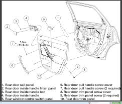 focus ses removing rear door handle on 2008 ford focus ses
