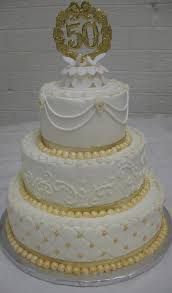 50th anniversary cake ideas beautiful 50th wedding anniversary cakes b94 in pictures