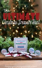 the ultimate christmas treasure hunt free printable
