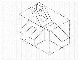 the faces of the isometric box that are coplaner the planar