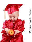 infant graduation cap and gown baby graduation babys show growth and potential early one