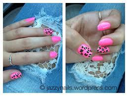 animal print nails jazzynails