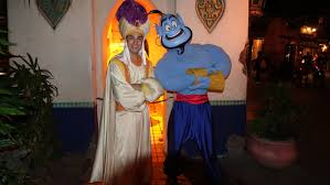 prince ali and genie disneyland mickey u0027s halloween par