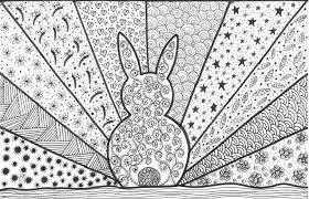 coloring pages free rabbit coloring page
