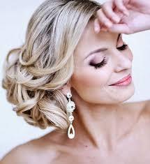 Hochsteckfrisurenen Hochzeit Blond by Brautfrisur Seitlicher Chignon Brautfrisuren Für Die Moderne