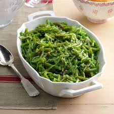 cooked green beans recipe taste of home
