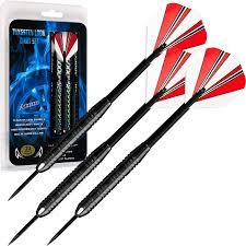 amazon com tg 23 gram steel tip dart set with case darts