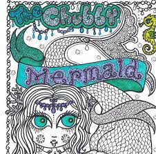 130 coloring books chubby mermaid images
