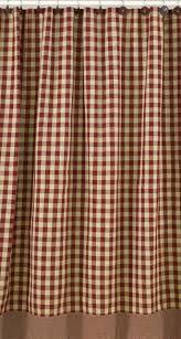 Park Designs Curtains Bj S Country Charm York Buffalo Check Shower Curtain York Wine