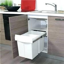poubelle pour meuble de cuisine poubelle meuble cuisine cuisine poubelle coulissante pour meuble