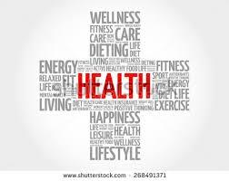health word cloud health cross concept stock vector 268491371