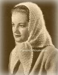 knitting pattern for angora scarf lacy angora head scarf knitting pattern lacy angora head