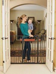 Best Baby Gate For Banisters Banister U0026 Stair Top Of Stairs Gate With Dual Installation Kit