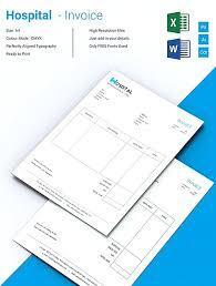 hospital invoice microsoft excel invoice template microsoft