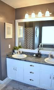 bathroom mirror ideas best 25 diy bathroom mirrors ideas on fixing mirrors