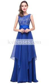 top selling royal blue lace long prom dresses 2016 a line scoop