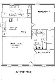 simple one bedroom house plans best 25 small open floor house plans ideas on small
