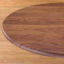 Fitted Round Tablecloth Wood Grain Fitted Table Cover Fitted Table Cover Miles Kimball