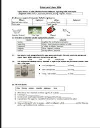 the city science reinforcement worksheet grade 4
