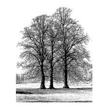 crafty individuals ci 453 tree trio rubber st 77mm x