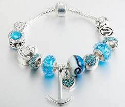 european charm bracelet clasp images Combination charm bracelet jpg
