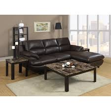 Black Leather Sleeper Sofa Living Room Furniture Living Room Black Stained Wooden Coffee
