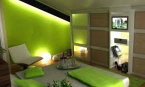 chambre verte et blanche deco chambre verte chambre verte nuances diffacrentes bleu deco