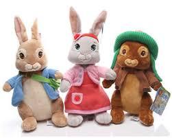 rabbit and benjamin bunny rabbit lilly bobtail benjamin bunny stuffed plush 30cm soft