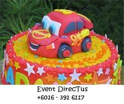 delicious disney cars birthday cake decoration disney cars