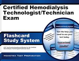 certified hemodialysis technologist technician exam flashcard